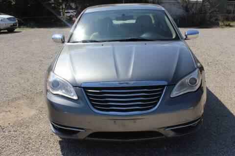 2012 Chrysler 200 for sale at Bailey & Sons Motor Co in Lyndon KS