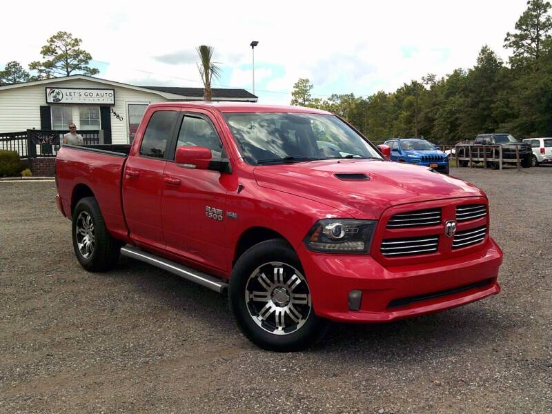 2015 RAM Ram Pickup 1500 for sale at Let's Go Auto Of Columbia in West Columbia SC