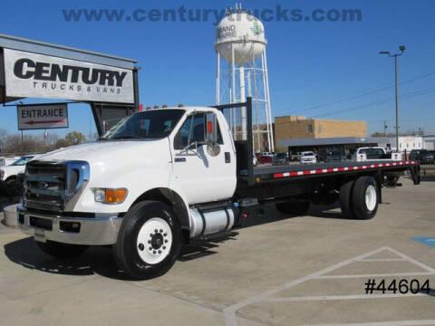 2015 Ford F-750 Super Duty for sale at CENTURY TRUCKS & VANS in Grand Prairie TX
