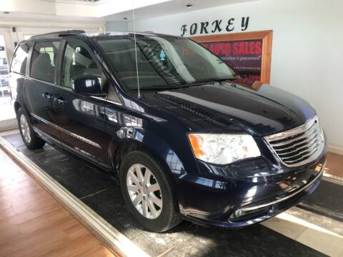 2014 Chrysler Town and Country for sale at Forkey Auto & Trailer Sales in La Fargeville NY