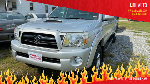 2005 Toyota Tacoma for sale at MBL Auto Woodford in Woodford VA