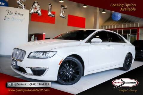 2017 Lincoln MKZ for sale at Quality Auto Center in Springfield NJ