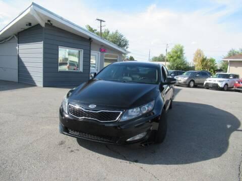 2011 Kia Optima for sale at Crown Auto in South Salt Lake UT
