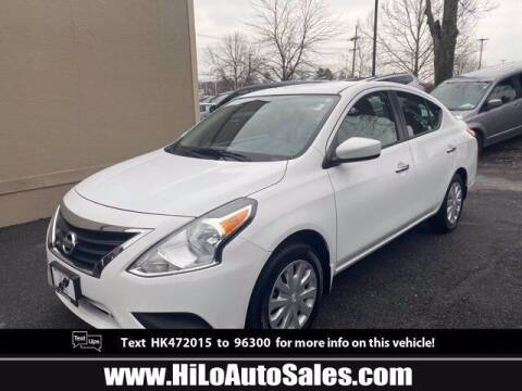 2017 Nissan Versa for sale at Hi-Lo Auto Sales in Frederick MD