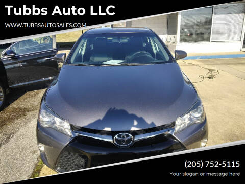 2017 Toyota Camry for sale at Tubbs Auto LLC in Tuscaloosa AL