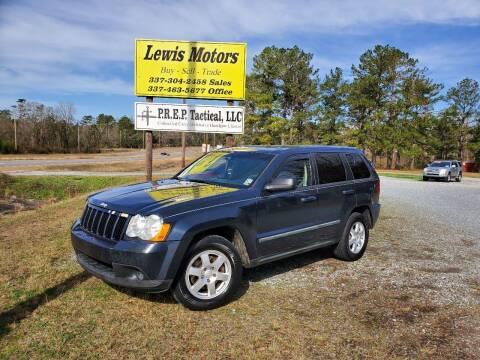 2008 Jeep Grand Cherokee for sale at Lewis Motors LLC in Deridder LA