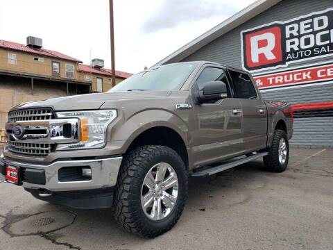2018 Ford F-150 for sale at Red Rock Auto Sales in Saint George UT