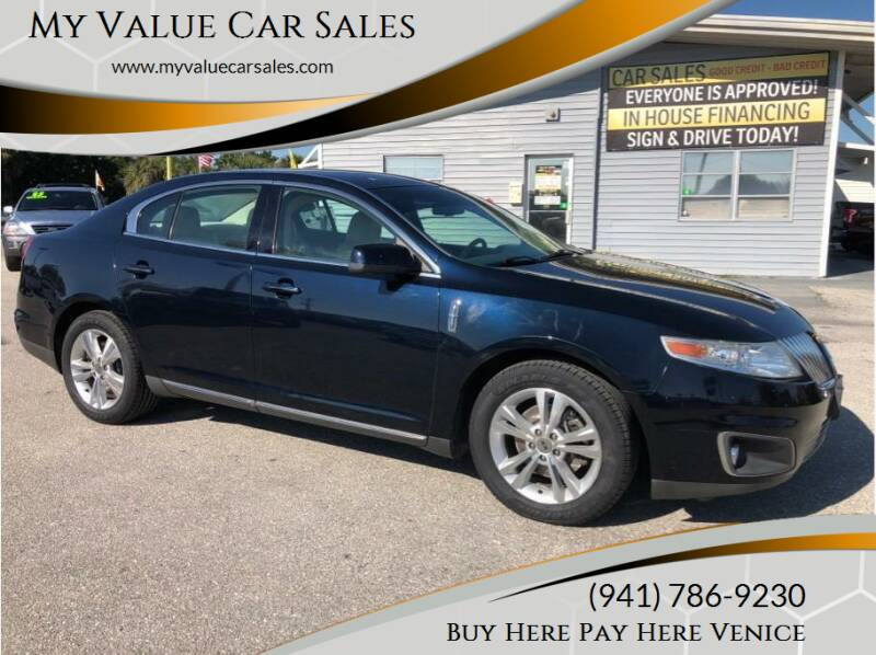 2009 Lincoln MKS for sale at My Value Car Sales - Upcoming Cars in Venice FL