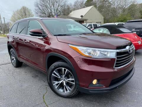 2016 Toyota Highlander for sale at Lux Auto in Lawrenceville GA