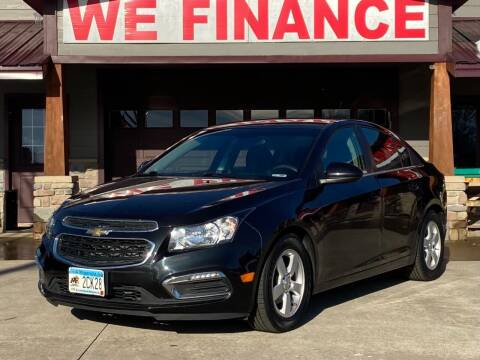 2015 Chevrolet Cruze for sale at Affordable Auto Sales in Cambridge MN