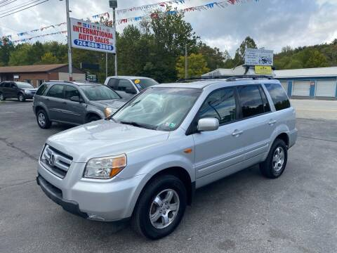 2008 Honda Pilot for sale at INTERNATIONAL AUTO SALES LLC in Latrobe PA