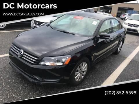 2014 Volkswagen Passat for sale at DC Motorcars in Springfield VA