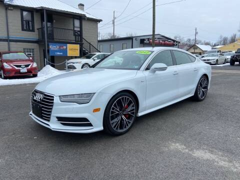 2017 Audi A7 for sale at Sisson Pre-Owned in Uniontown PA