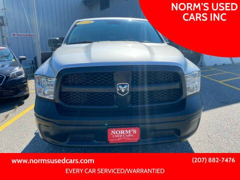 2014 RAM Ram Pickup 1500 for sale at NORM'S USED CARS INC in Wiscasset ME