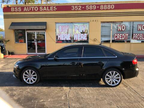2013 Audi A4 for sale at BSS AUTO SALES INC in Eustis FL
