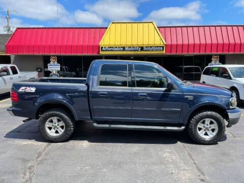2002 Ford F-150 for sale at Affordable Mobility Solutions, LLC - Standard Vehicles in Wichita KS