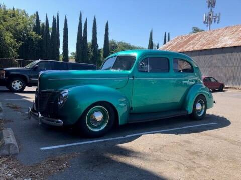 1940 Ford Deluxe for sale at Route 40 Classics in Citrus Heights CA