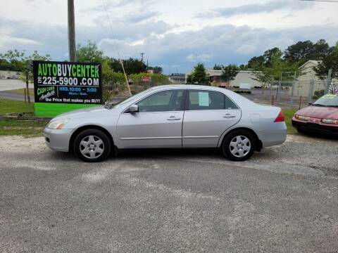 2006 Honda Accord for sale at AutoBuyCenter.com in Summerville SC