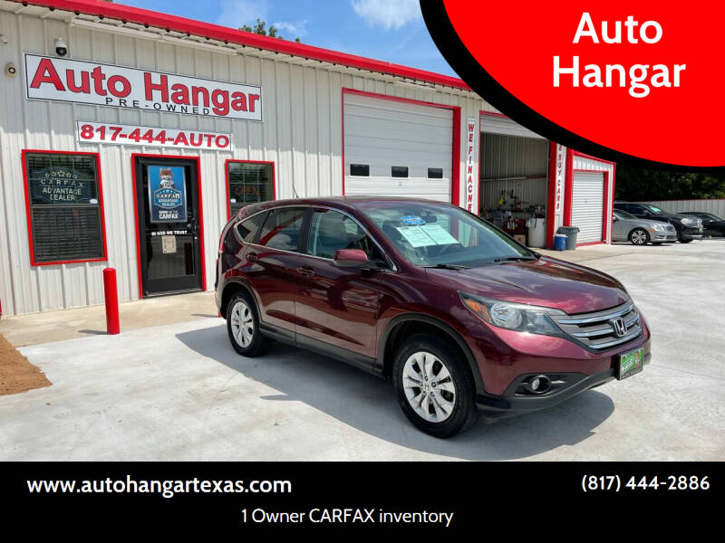 2014 Honda CR-V for sale at Auto Hangar in Azle TX