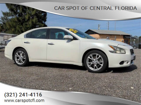 2014 Nissan Maxima for sale at Car Spot Of Central Florida in Melbourne FL