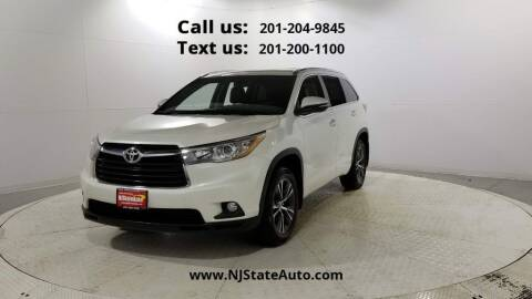 2016 Toyota Highlander for sale at NJ State Auto Used Cars in Jersey City NJ