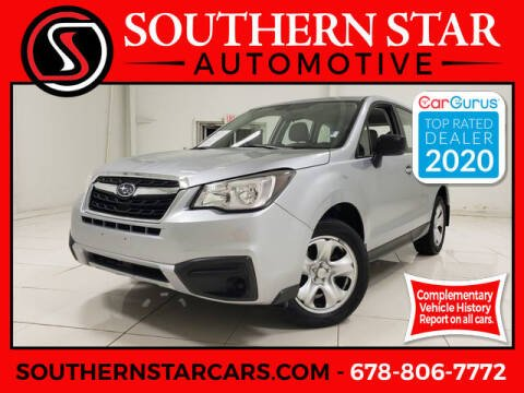 2017 Subaru Forester for sale at Southern Star Automotive, Inc. in Duluth GA