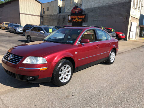 2004 Volkswagen Passat for sale at STEEL TOWN PRE OWNED AUTO SALES in Weirton WV