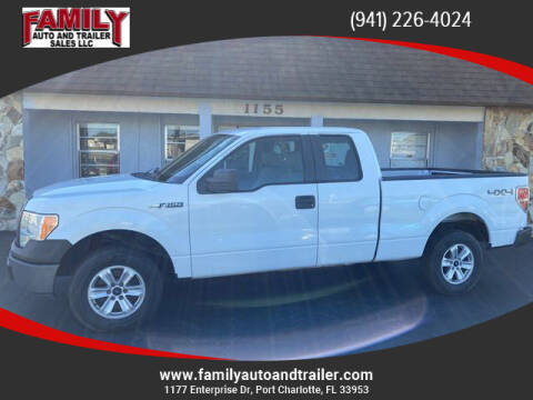2010 Ford F-150 for sale at Family Auto and Trailer Sales LLC in Port Charlotte FL