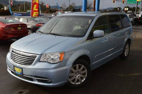 2013 Chrysler Town and Country for sale at Earnest Auto Sales in Roseburg OR