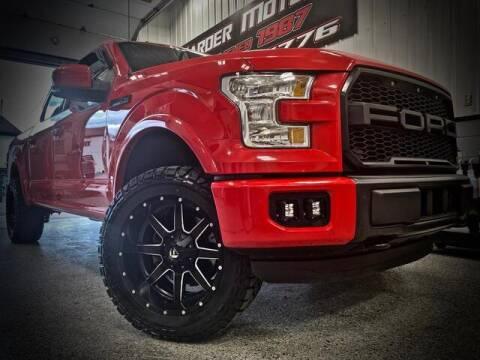 2015 Ford F-150 for sale at Carder Motors Inc in Bridgeport WV