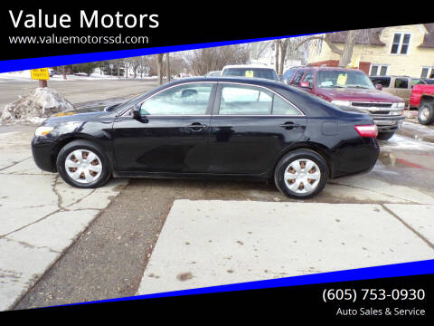 2007 Toyota Camry for sale at Value Motors in Watertown SD