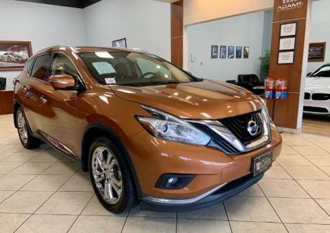 2015 Nissan Murano for sale at Adams Auto Group Inc. in Charlotte NC