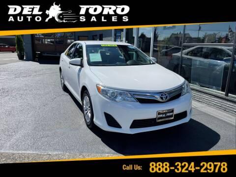 2013 Toyota Camry for sale at DEL TORO AUTO SALES in Auburn WA