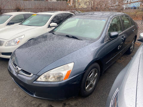 2005 Honda Accord for sale at Polonia Auto Sales and Service in Hyde Park MA