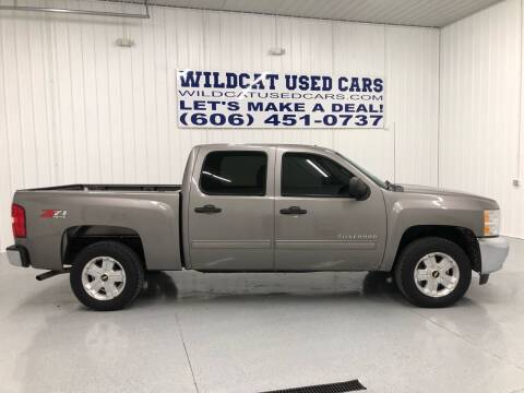 2012 Chevrolet Silverado 1500 for sale at Wildcat Used Cars in Somerset KY