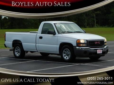 2006 GMC Sierra 1500 for sale at Boyles Auto Sales in Jasper AL