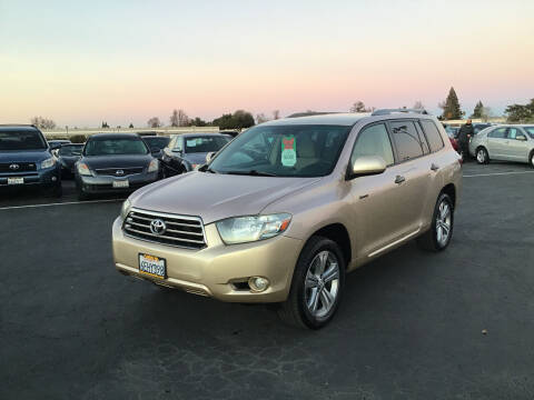 2008 Toyota Highlander for sale at My Three Sons Auto Sales in Sacramento CA