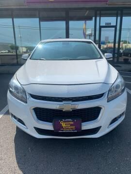 2014 Chevrolet Malibu for sale at Washington Motor Company in Washington NC