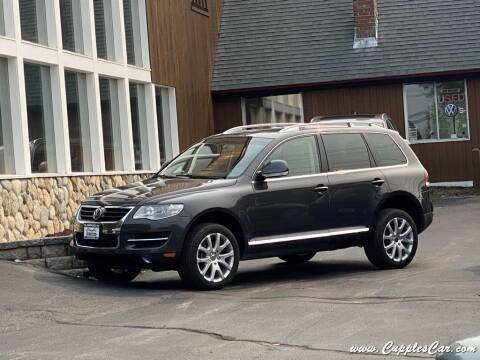 2010 Volkswagen Touareg for sale at Cupples Car Company in Belmont NH