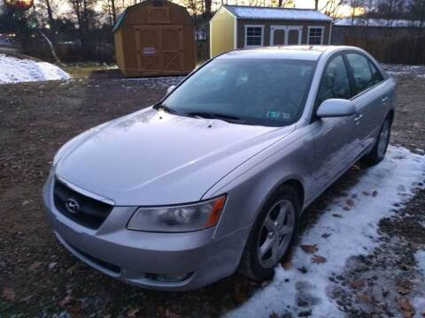 2007 Hyundai Sonata for sale at Seneca Motors, Inc. (Seneca PA) in Seneca PA