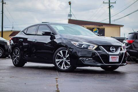 2017 Nissan Maxima for sale at Jerrys Auto Sales in San Benito TX