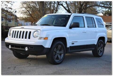 2017 Jeep Patriot for sale at WHITE MOTORS INC in Roanoke Rapids NC