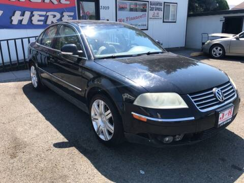 2005 Volkswagen Passat for sale at J and H Auto Sales in Union Gap WA