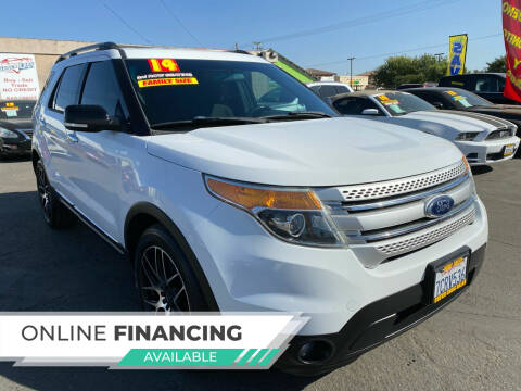2014 Ford Explorer for sale at Super Cars Sales Inc #1 in Oakdale CA
