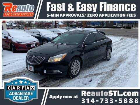2011 Buick Regal for sale at Reauto in Saint Louis MO