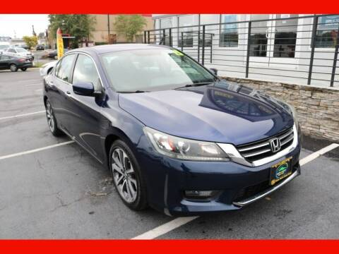 2015 Honda Accord for sale at AUTO POINT USED CARS in Rosedale MD
