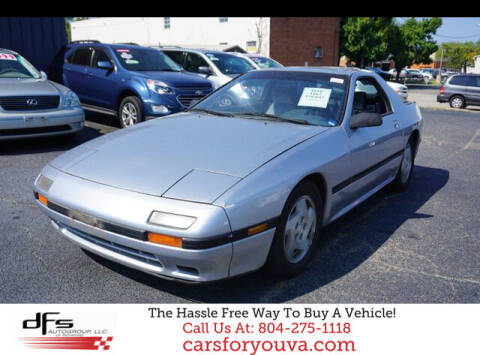 1987 Mazda RX-7 for sale at DFS Auto Group of Richmond in Richmond VA