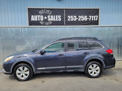2010 Subaru Outback for sale at Austin's Auto Sales in Edgewood WA