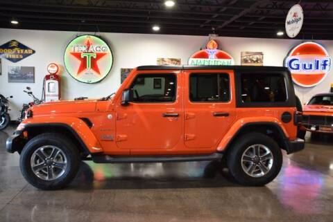 2018 Jeep Wrangler Unlimited for sale at Choice Auto & Truck Sales in Payson AZ