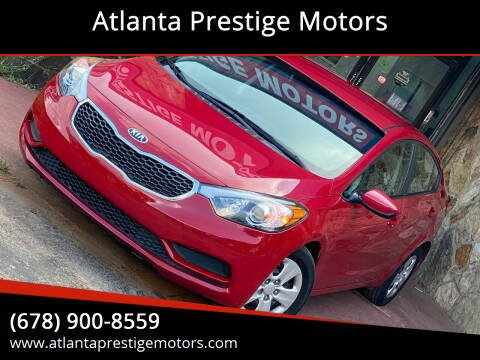 2016 Kia Forte for sale at Atlanta Prestige Motors in Decatur GA